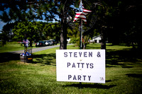 Steven and Patty's party